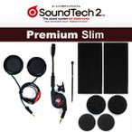 WINS SOUND TECH 2(サウンドテック 2) プレミアム スリム Premium Slim STS-02 ヘルメットスピーカーセット