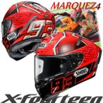 ショウエイ X-FOURTEEN MARQUEZ4 (エックス - フォーティーン マルケス 4) X-14 マルク・マルケス選手レプリカ フルフェイスヘルメット