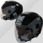 スピードピット ZJ-3 ZACK ダブルシールド機能搭載 ジェットヘルメット デザインカラー(MAD BK/GRAY)