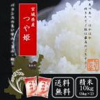 令和3年産  新米 宮城県産つや姫 10kg (5kg×2) 送料無料  精白米