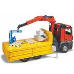ブルーダー/Bruderプロシリーズ(車のおもちゃ) メルセデスベンツArocs クレーン作業トラック(3歳から)