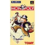 ▲【クリックポスト6個まで164円】SFC スーファミ トミー モノポリー ボードゲーム h-g-sfc-1361 【中古】