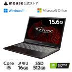 ゲーミングノートパソコン G-Tune P5-MA-AB Windows 10 Core i7 256GB M.2 SSD 1TB HDD Microsoft Office付き 新品 マウスコンピューター  [392720]-[-395033]