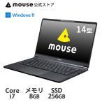ノートパソコン 14型 mouse X4-i7-PPMA Windows 10 Core i7 8GB メモリ 512GB M.2 SSD マウスコンピューター [392924]