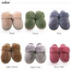 ムートンスリッパ ムートンブーツ 素足で履ける 洗える 天然羊毛 スリッパ あったか ルームシューズ デラックスタイプ レディース メンズ ふわふわ E800