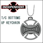 INDEPENDENT(インディペンデント) T/C BOTTOMS UP KEYCHAIN キーチェーン ボトルオープナー