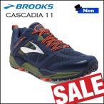 SALE ランニングシューズ ブルックス BROOKS メンズ CASCADIA 11 (440) カスケディア 【old-bks】