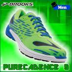 ランニングシューズ ブルックス BROOKS メンズ PURECADENCE 5 (330) マラソン ジョギング brk-16ss