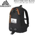 グレゴリー ファインデイ ボールド GREGORY BOLD FINE DAY-BLACK ビッグロゴ