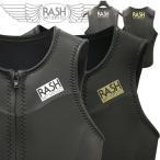 RASH ウェットスーツ タッパー20 RASH ラッシュ LIMITED フロントジップ ベスト ハイストレッチ マテリアル 2mm オールスキン 国産