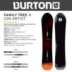 ショッピングburton スノーボード ボード 板 17-18 BURTON バートン FAMILYTREE CONARTIST