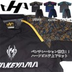 ハタケヤマ 限定 ウェア ハーフピステ 半袖 上下セット セットアップ HF-HP18 ブラック O