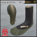 S# 17-18 MAGIC(マジック) 5mm ROYAL HYBRID SOX ロイヤルハイプリットソックス サーフブーツ