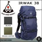 ショッピングバック バックカントリー バックパックPLUS ONE WORKS IRWAK38