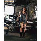 ブロマイド写真(外国製)『ワイルド・スピードX3 TOKYO DRIFT』/フォード・マスタングとニーラ/ナタリー・ケリー