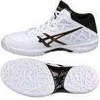 特価ゲルフープV7ワイド アシックスバスケットシューズ TBF320 0190 ホワイト×ブラック