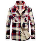 ネルシャツ メンズ 長袖 大きいサイズ チェックシャツ アメカジ 春 秋 冬 ta-lysmmix0005