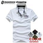 ゴルフウェア POLO ポロシャツ ゴルフシャツ メンズ 鹿の子 半袖 アメカジ ta-pmmix0014