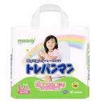 【ユニ・チャーム】ムーニー トレパンマン 女の子用 Lサイズ(パンツ式) 21枚入 ◆お取り寄せ商品