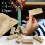 カンフル ツリー ブロック 10pcs Made in Japan 防虫 防虫剤 天然由来 木 クスノキ ウッド 服用 タンス 引き出し 10個入り レディース メンズ