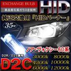 ノア 60系 ヴォクシー 60系 前期 HIDバルブ HIDヘッドライト D2C D2R D2S 35W NOAH VOXY