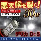デリカ D5 フォグランプ LED H11 30W CREE製 OSRAM製 2個セット