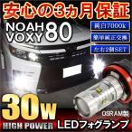 ノア 80系 ヴォクシー 80系 NOAH VOXY フォグランプ LED H16 30W OSRAM製 2個セット
