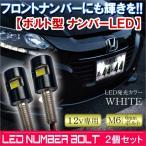 ヴェゼル LED ナンバーボルト ナンバー灯 2個セット パーツ VEZEL
