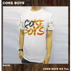 COKE BOYSコークボーイズ Tシャツ メンズ / ホワイト 白 WHITE