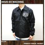DEUS EX MACHINA デウスエクスマキナ コーチジャケット VENICE COACH JACKET ブラック 黒