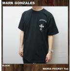MARK GONZALES マークゴンザレス Tシャツ MARIA POCKET S/S Tee Tシャツ 半袖 ブラック 黒 BLACK