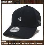 NEW ERA ニューエラ キャップ 9FORTY MELTON MINI LOGO CAP NEW YORK YANKEES ヤンキース ブラック 黒 BLACK