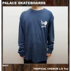 PALACE SKATEBOARDS パレス ロンT Tシャツ TROPICAL CHERUB L/S Tee ネイビー NAVY 紺
