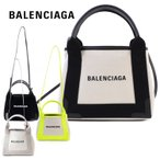 バレンシアガ BALENCIAGA トートバッグ 2way ネイビー カバ XS 専用保存袋付き 390346 AQ38N