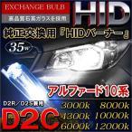アルファード 10系 前期 後期 HIDバルブ HIDヘッドライト D2C D2R D2S 35W