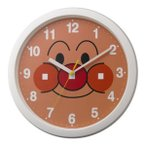 リズム時計工業 掛時計 アンパンマン M713 ホワイト 4KG713-M03【送料無料】