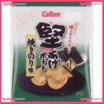 YCxカルビー 65G堅あげポテト焼きのり味×12個 +税 【xeco】【エコ配 送料無料 (沖縄 不可)】