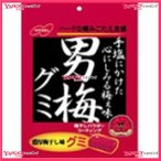 YCx駄菓子 ノーベル38G男梅グミ×6個 +税 【駄xima】【メール便送料無料】