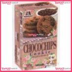 YCx森永製菓 12枚 チョコチップクッキー【チョコ】×80個 +税 【xw】【送料無料(沖縄は別途送料)】