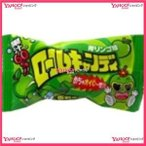 YCx駄菓子 やおきん ロールキャンディ青リンゴ味×24個 +税 【駄xima】【メール便送料無料】
