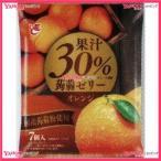 YCxエースベーカリー 20Gx7個 果汁30%蒟蒻ゼリーオレンジ×24個 +税 【xeco】【エコ配 送料無料 (沖縄 不可)】