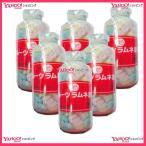 YC島田製菓 250グラム【目安として約107粒】  シマダ フルーツ大瓶 固形ラムネ菓子×6瓶 +税 【6h】