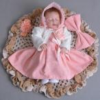 ベビードレス 女の子 結婚式 子供服 七五三 赤ちゃん ワンピース フォーマル 子ども ドレス 4点セット