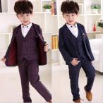 フォーマル 男の子 子供 スーツ 子供服 卒業式 七五三 結婚式 入学式 発表会 男の子用スーツ 4点セット