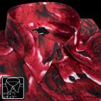 ショッピング薔薇 サテンシャツ 花柄 ドゥエボットーニ メンズ レギュラーカラー 大柄 薔薇 日本製 パーティー ジャガード ドレスシャツ(レッド赤) 161222