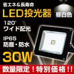 LED投光器 作業灯 ワークライト 30W 昼白色 ワイド配光 防水 看板照明 省エネ 長寿命  広角 屋外 ブラック