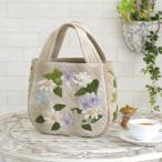 オリムパス製絲 手芸キット パッチワーク お花とアイビーのコロンバッグ PA-668