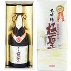 ショッピング大 大吟醸極聖 昔搾り斗瓶どり 720ml 【宮下酒造】