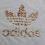 海外買い付け アディダス オリジナルス レオパード トレフォイル Tシャツ 薄灰 ADIDAS ORIGINALS LEOPARD T-SHIRT TEE メンズ 半袖 ヒョウ 豹柄