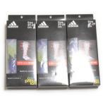アディダス テックフィット ハイ ソックス G 3足セット S92763 クールネイビー×パープル ADIDAS Techfit HI SOCKS G 3 SET 日本製 段階着圧 サポート 靴下